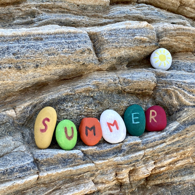 """""""Summer vibes"""" stock image"""