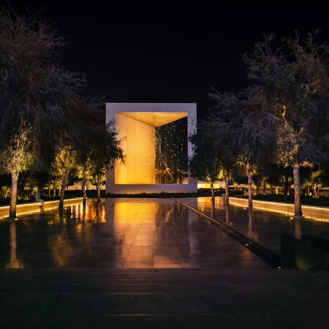 """Abu Dhabi, United Arab Emirates - April 5, 2021: Founder memoria"" stock image"
