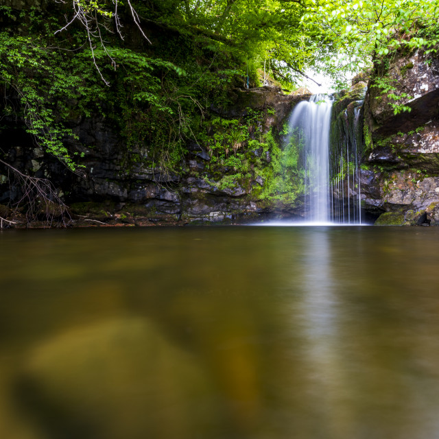 """Campsie Waterfall"" stock image"