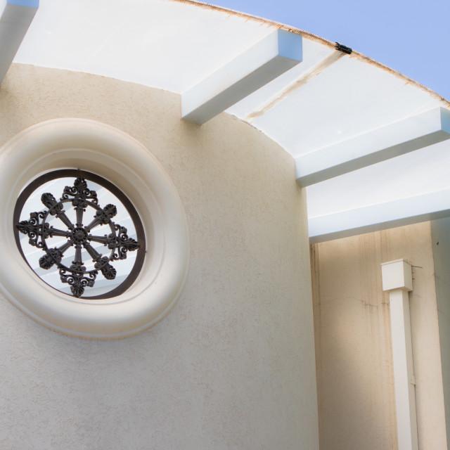 """circularity of windows"" stock image"