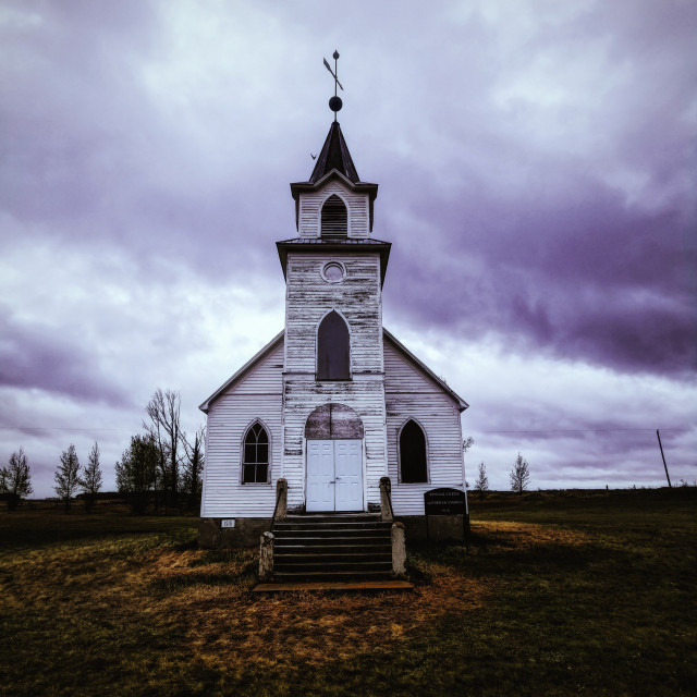 """Spring Creek Church"" stock image"