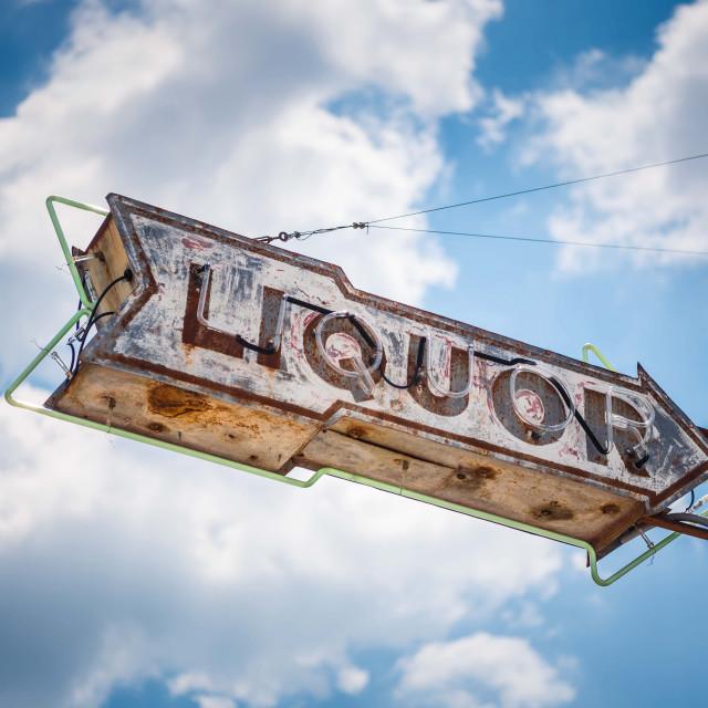 """Liquor"" stock image"