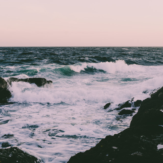"""Beach Waves"" stock image"