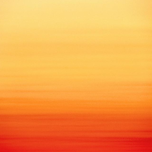"""Peach pop skies"" stock image"