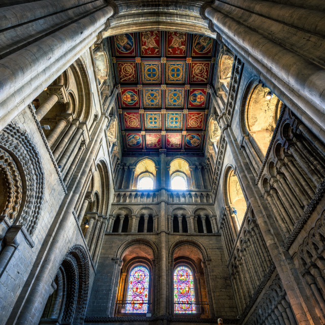 """""""Ely Cathedral, South West Transepts, Ely UK."""" stock image"""