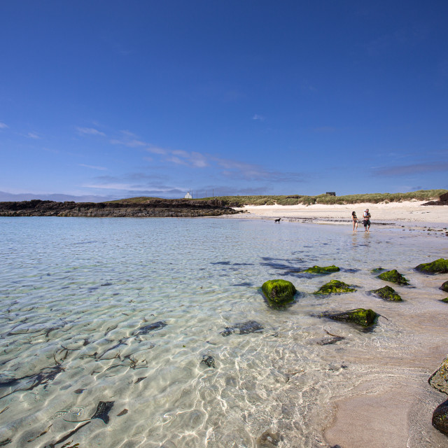 """""""Summer in Clachtoll, Scottish Highlands"""" stock image"""