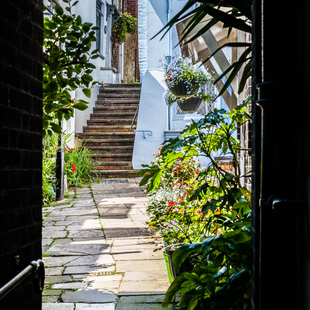 """""""Old Town, Hastings"""" stock image"""