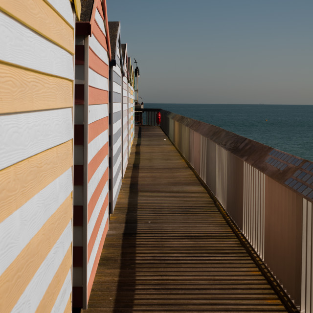 """Hastings Pier, UK"" stock image"