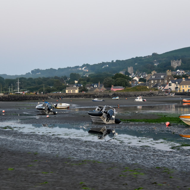 """""""A picture of Newport Pembrokeshire"""" stock image"""