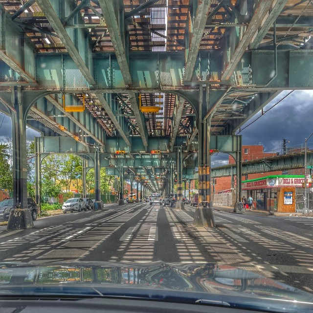 """Brooklyn subway system"" stock image"