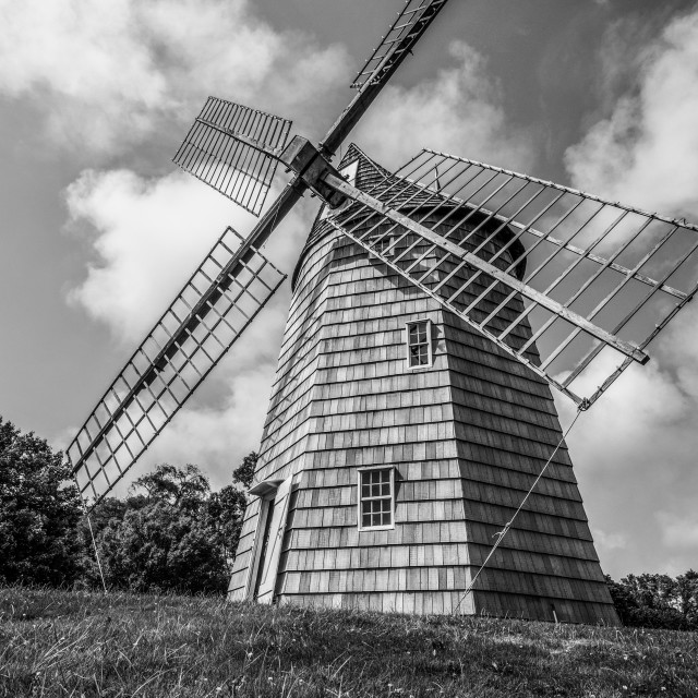 """""""The Mill at the Hamptons"""" stock image"""