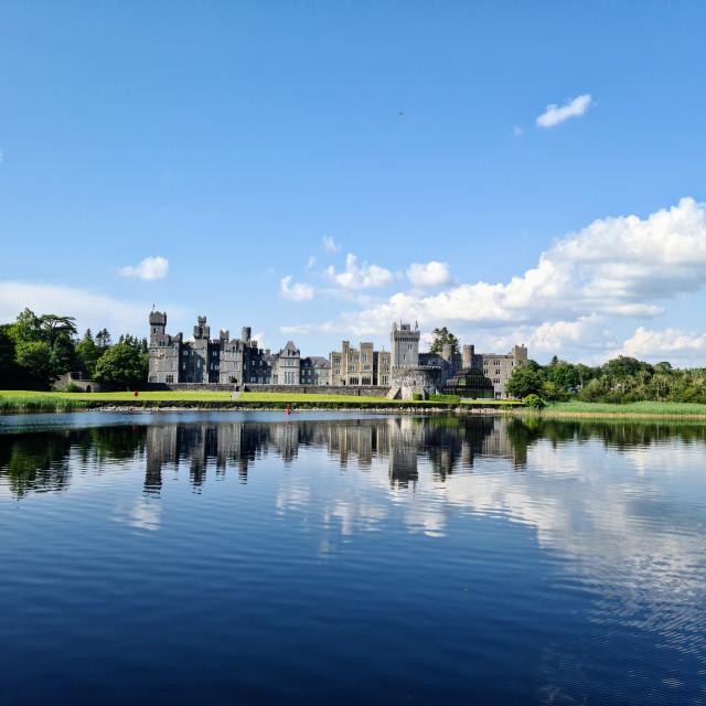 """Ashford Castle"" stock image"