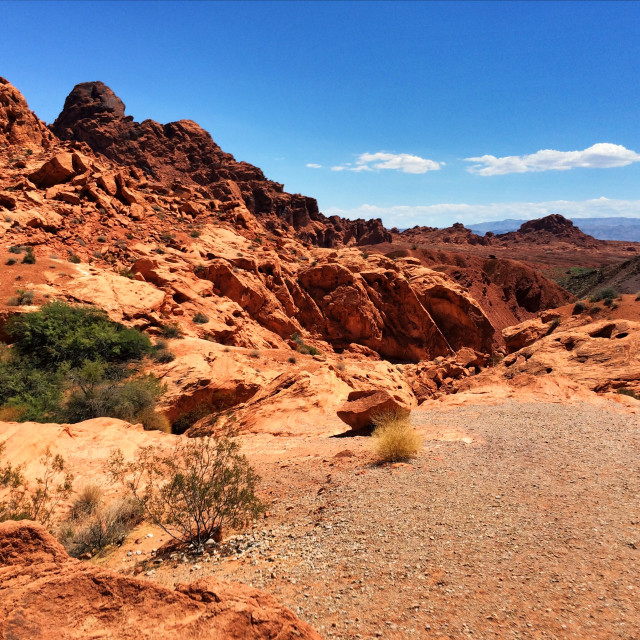 """""""Valley of Fire"""" stock image"""