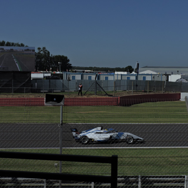 """""""Silverstone 2021, Women's Series Practice, Friday 16th July."""" stock image"""