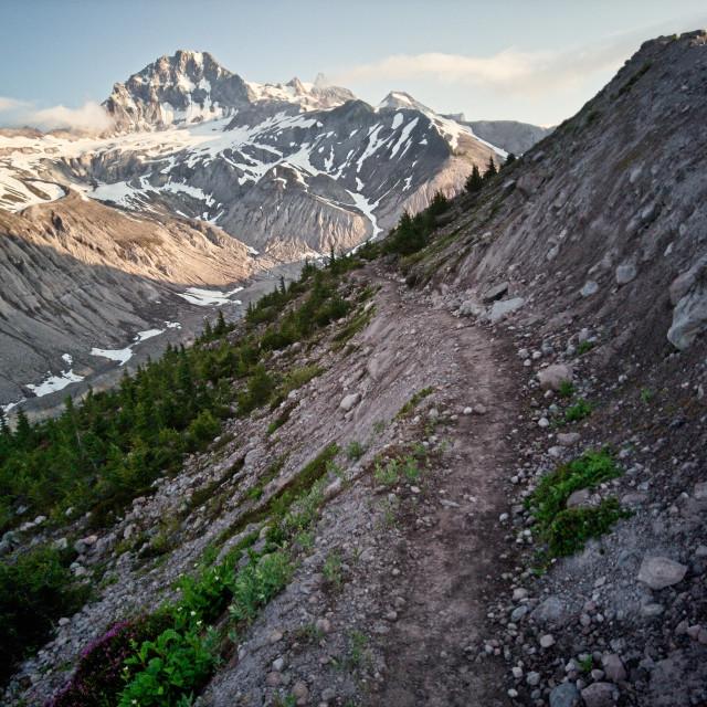 """Atwell Peak"" stock image"