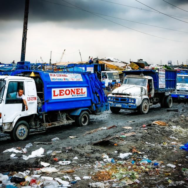 """Armenviertel am Hafen - Urban Poor"" stock image"