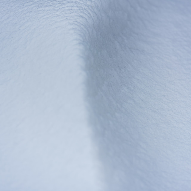 """""""Snow shape abstract"""" stock image"""