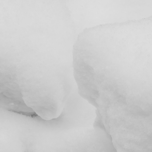"""""""Abstract snow shapes"""" stock image"""