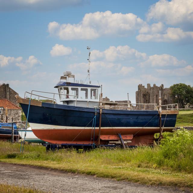"""""""Lindisfarne"""" stock image"""
