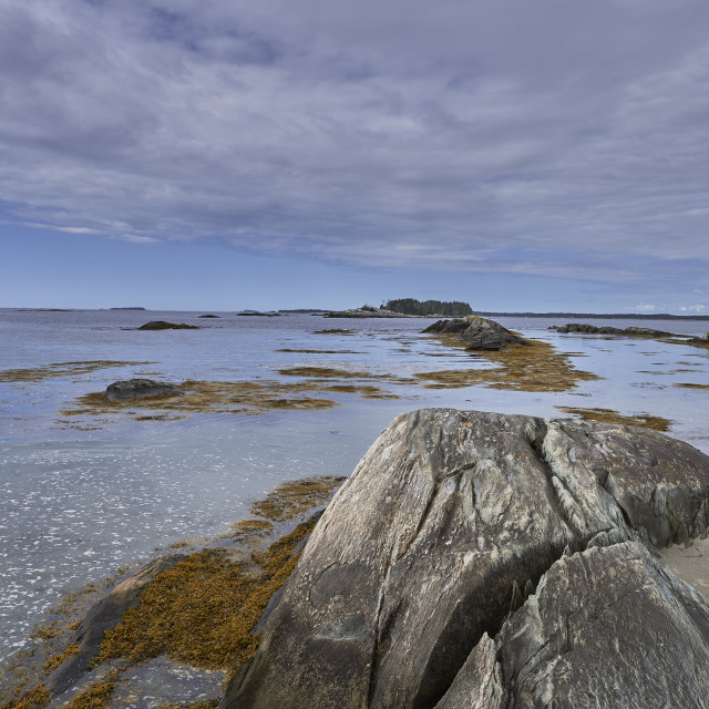 """""""Leading lines of rocks"""" stock image"""
