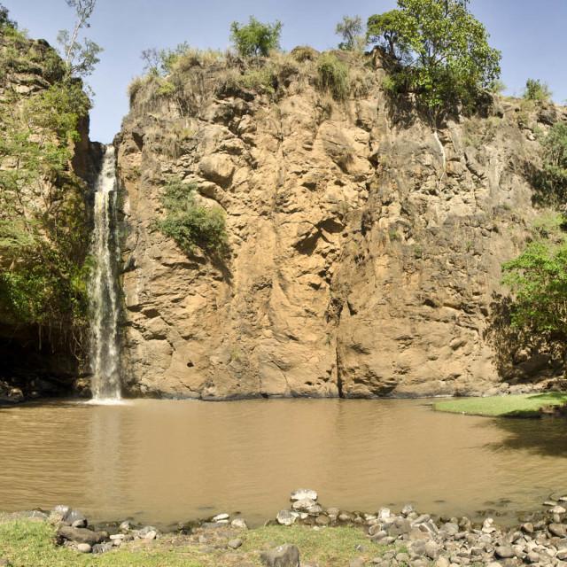"""Waterfall in Lake Nakuru National Park"" stock image"