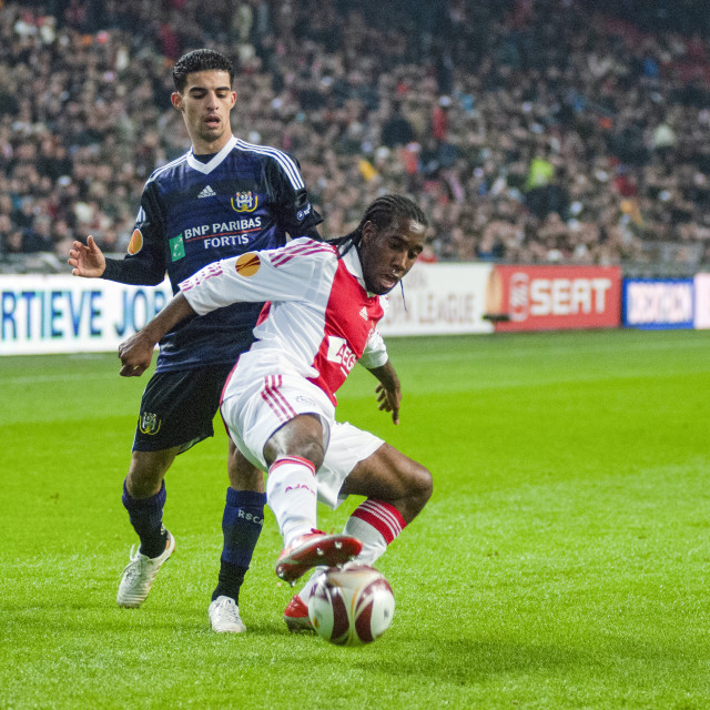 """""""Amsterdam The Netherlands 17th December 2009: Europa League Ajax vs..."""" stock image"""