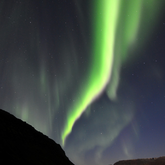 """Aurora Borealis (Northern Lights)"" stock image"