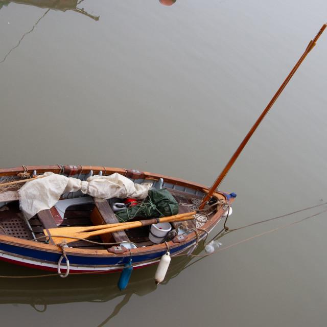 """Sailing Cobble"" stock image"
