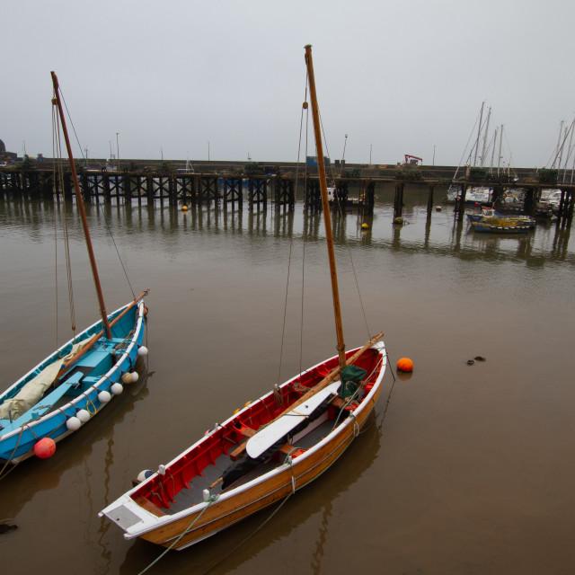 """Sailing Cobbles"" stock image"