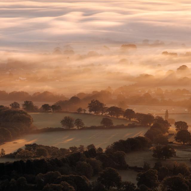 """Worcestershire Wakes Up"" stock image"