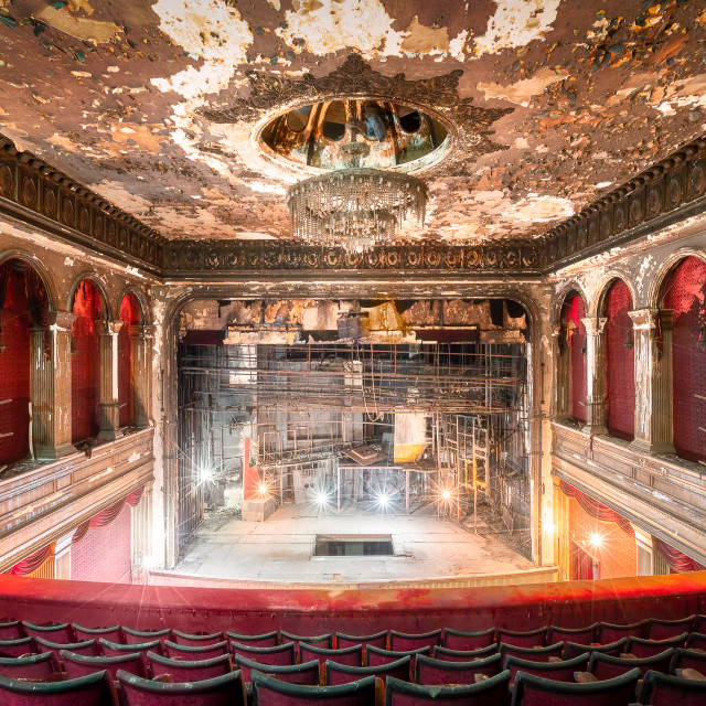"""""""Piccadilly Theater in Beirut Lebanon"""" stock image"""