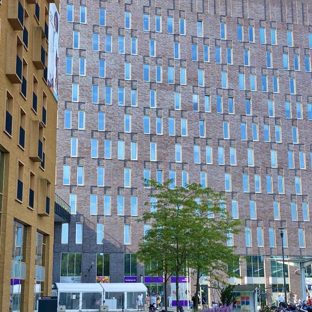 """New hospital building."" stock image"