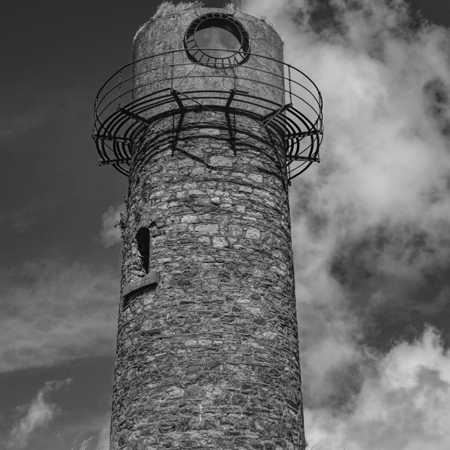 """""""The Old Beacon"""" stock image"""