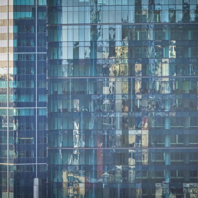 """City Glass"" stock image"