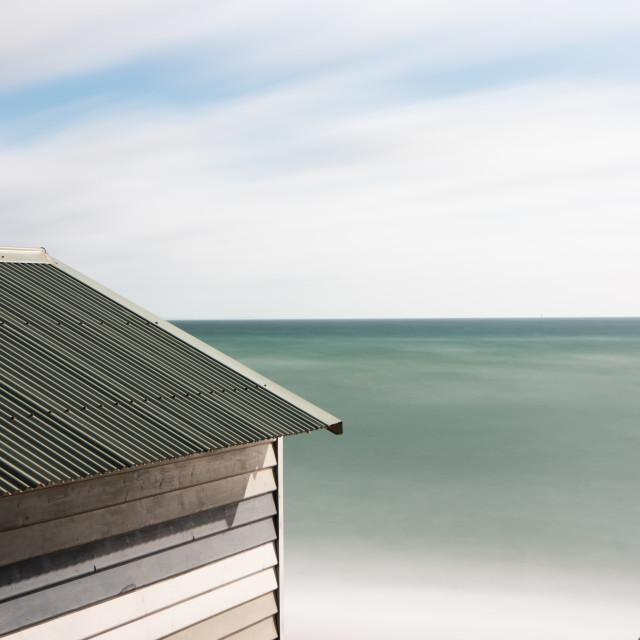 """Beach Green"" stock image"