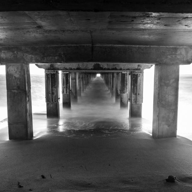 """Under The Boardwalk"" stock image"
