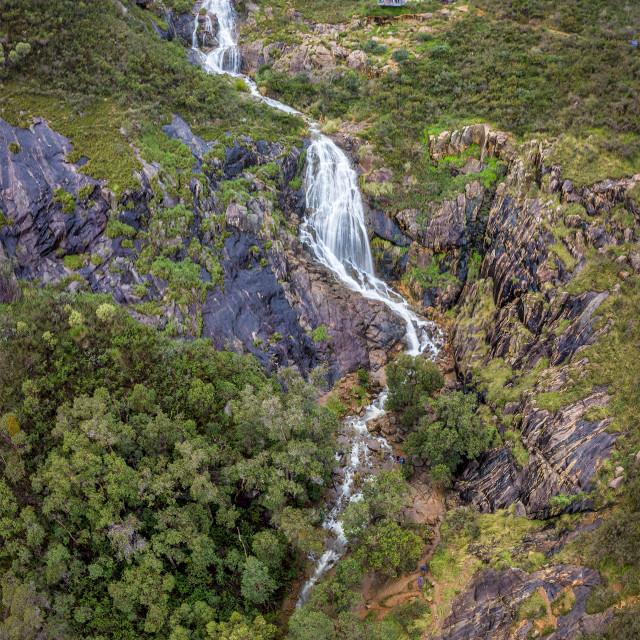 """Lesmurdie Falls"" stock image"