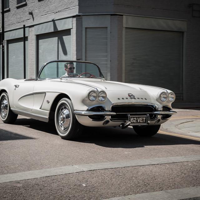 """""""1962 Chevrolet Corvette"""" stock image"""