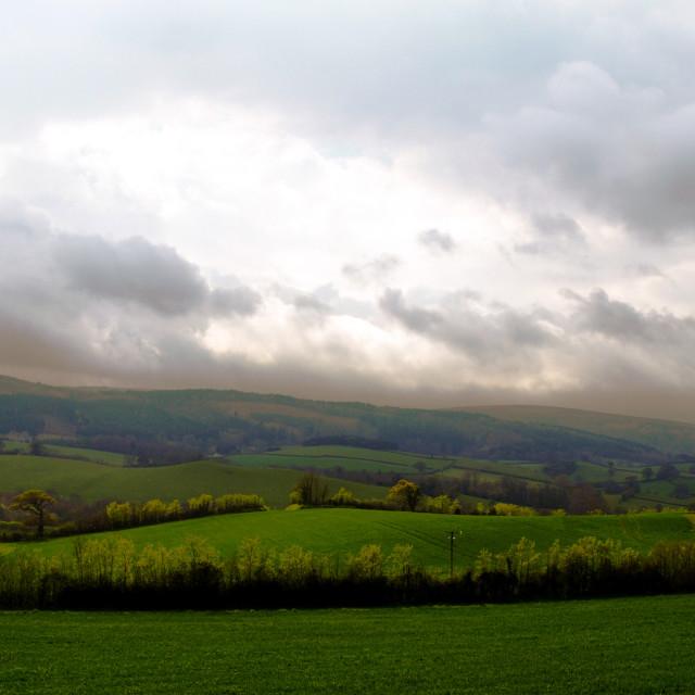 """Yorkshire Weather"" stock image"