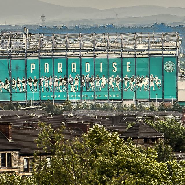 """Celtic Park Glasgow"" stock image"