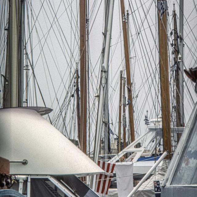 """""""Yacht mast"""" stock image"""