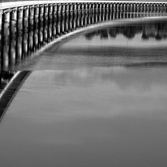 """""""A View of the Bridge - Cromarty Causeway, Scottish Highlands"""" stock image"""