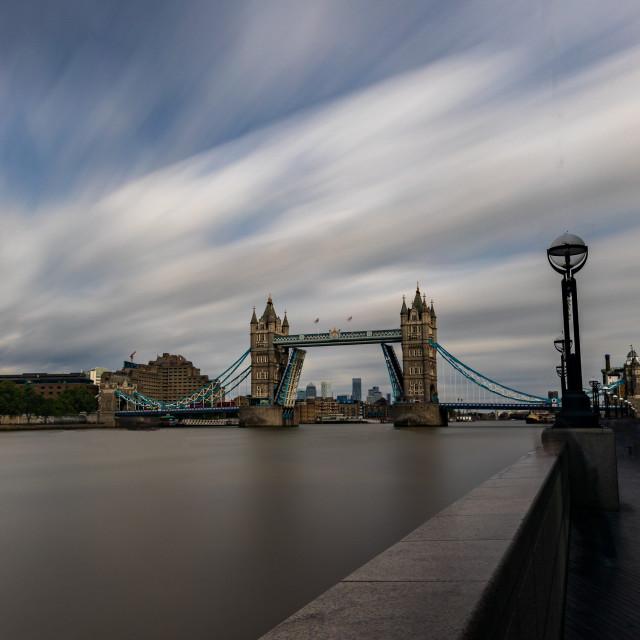 """Tower Bridge, London"" stock image"