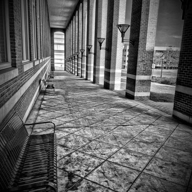 """Courthouse Hall"" stock image"
