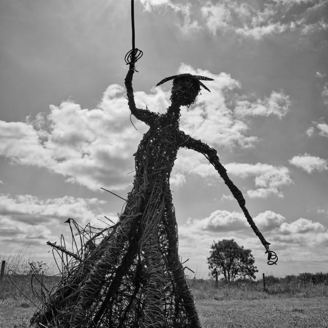 """Wicker Witch Sunburst"" stock image"