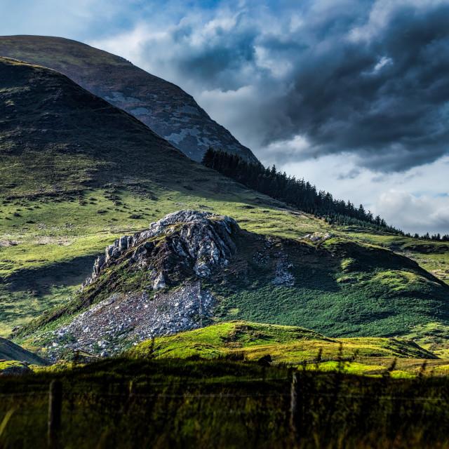 """Snowdonia National Park, Wales UK."" stock image"