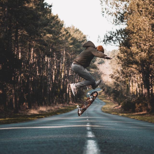 """""""Skate Landes"""" stock image"""