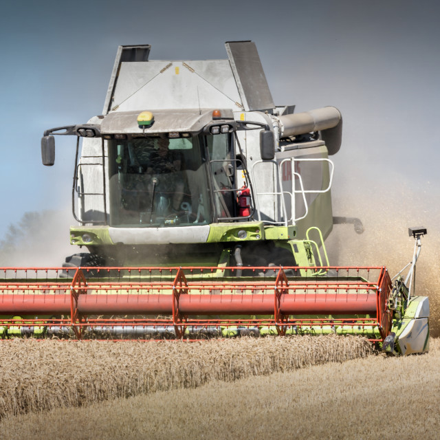 """""""The Harvester"""" stock image"""