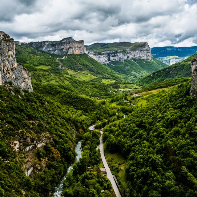 """""""Parc Naturel du Vercors, France"""" stock image"""