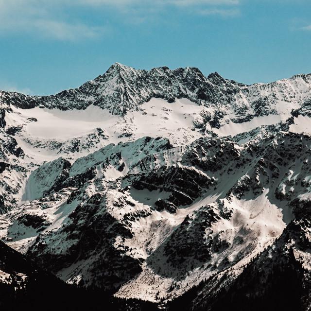 """""""Alpes Françaises"""" stock image"""